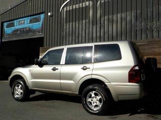 2005 Mitsubishi Pajero NP MY06 GLX Beige 5 Speed Sports Automatic Wagon