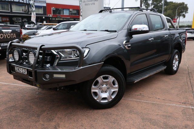 Used Ford Ranger PX MkII MY18 XLT 3.2 (4x4) Brookvale, 2018 Ford Ranger PX MkII MY18 XLT 3.2 (4x4) Grey 6 Speed Automatic Double Cab Pick Up