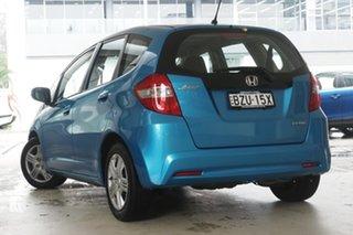 2011 Honda Jazz GE MY11 VTi Blue 5 Speed Manual Hatchback.
