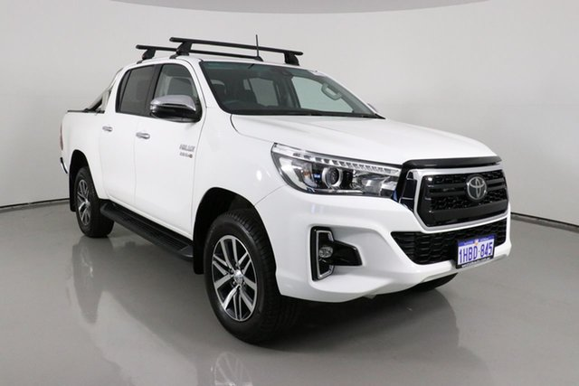 Used Toyota Hilux GUN126R MY19 Upgrade SR5 (4x4) Bentley, 2020 Toyota Hilux GUN126R MY19 Upgrade SR5 (4x4) White 6 Speed Manual Double Cab Pick Up