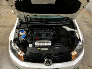 2012 Volkswagen Golf VI MY12.5 118TSI DSG Comfortline White 7 Speed Sports Automatic Dual Clutch