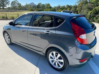 2011 Hyundai Accent RB Active Grey 4 Speed Sports Automatic Hatchback