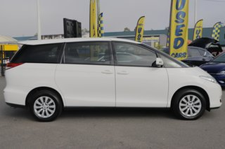 2017 Toyota Tarago ACR50R GLi Glacier White 7 Speed Constant Variable Wagon