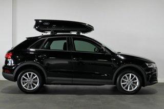 2016 Audi Q3 8U MY17 TDI S Tronic Quattro Black 7 Speed Sports Automatic Dual Clutch Wagon