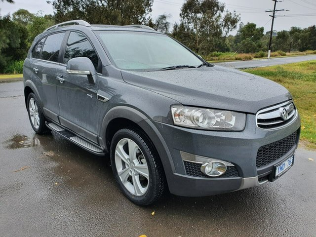 Used Holden Captiva CG Series II 7 LX Geelong, 2011 Holden Captiva CG Series II 7 LX Grey Sports Automatic Wagon