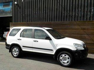 2005 Honda CR-V RD MY2005 4WD White 5 Speed Automatic Wagon.