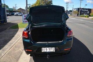 2016 Holden Commodore VF II SV6 Green 6 Speed Automatic Sedan