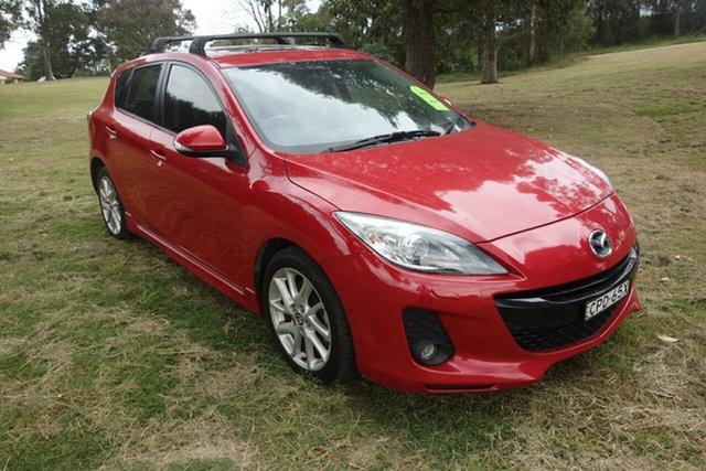 Used Mazda 3 BL10L2 MY13 SP25 Activematic East Maitland, 2013 Mazda 3 BL10L2 MY13 SP25 Activematic Red 5 Speed Sports Automatic Hatchback