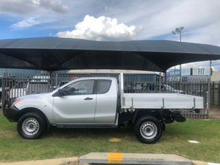 2014 Mazda BT-50 MY13 XT (4x4) Silver 6 Speed Manual Freestyle Cab Chassis.