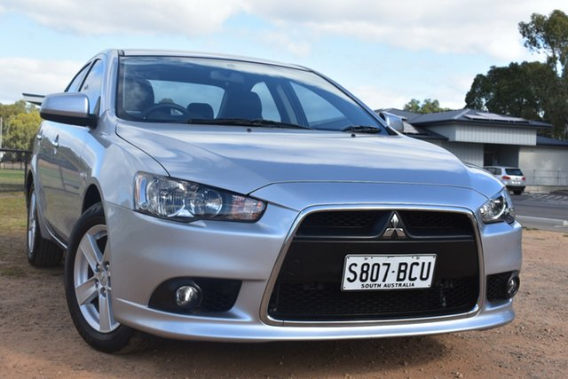 Used Mitsubishi Lancer CJ MY14.5 LX St Marys, 2014 Mitsubishi Lancer CJ MY14.5 LX Silver 6 Speed Constant Variable Sedan