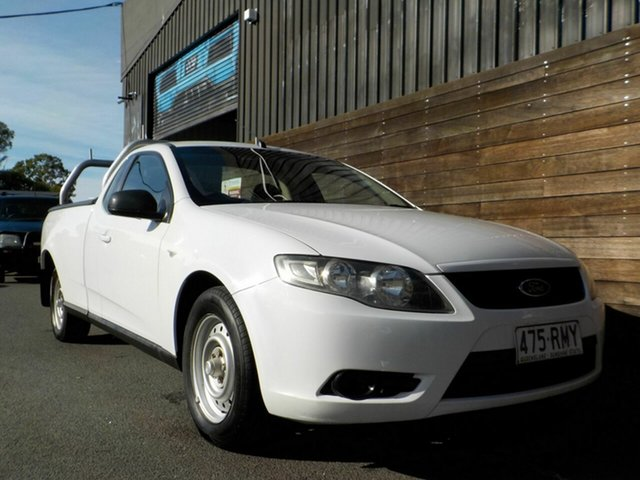 Used Ford Falcon FG Ute Super Cab Labrador, 2010 Ford Falcon FG Ute Super Cab White 6 Speed Sports Automatic Utility