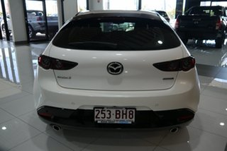 2021 Mazda 3 BP2H7A G20 SKYACTIV-Drive Pure White 6 Speed Sports Automatic Hatchback