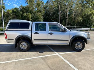 2006 Holden Rodeo LX Silver 5 Speed Manual Dual Cab.