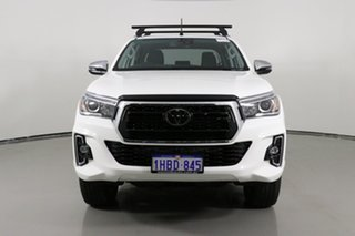 2020 Toyota Hilux GUN126R MY19 Upgrade SR5 (4x4) White 6 Speed Manual Double Cab Pick Up.