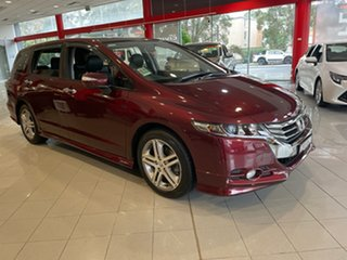 2013 Honda Odyssey 4th Gen MY13 Luxury Red 5 Speed Sports Automatic Wagon.
