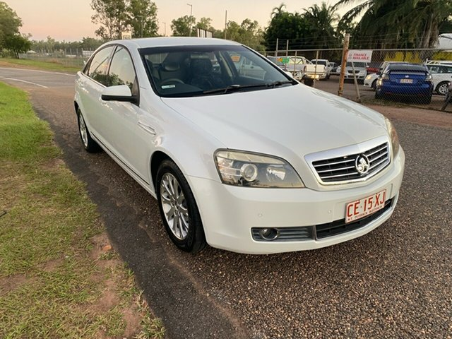 Used Holden Statesman WM Pinelands, 2007 Holden Statesman WM White 5 Speed Sports Automatic Sedan