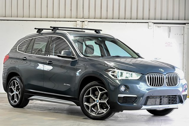 Used BMW X1 F48 xDrive20d Steptronic AWD Laverton North, 2016 BMW X1 F48 xDrive20d Steptronic AWD Grey 8 Speed Sports Automatic Wagon