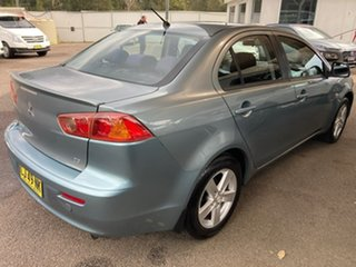 2009 Mitsubishi Lancer CJ MY09 ES Blue 6 Speed Constant Variable Sedan