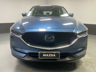 2018 Mazda CX-5 KF4WLA GT SKYACTIV-Drive i-ACTIV AWD Blue 6 Speed Sports Automatic Wagon.