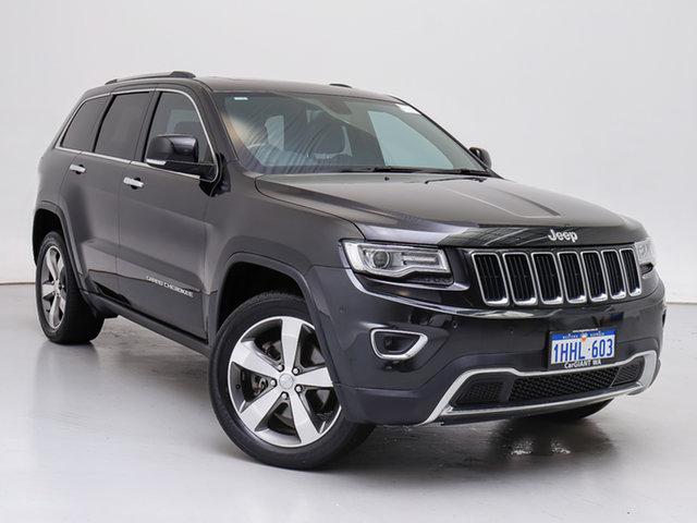 Used Jeep Grand Cherokee WK MY15 Limited (4x4), 2016 Jeep Grand Cherokee WK MY15 Limited (4x4) Black 8 Speed Automatic Wagon