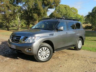 2018 Nissan Patrol Y62 Series 4 TI-L Grey 7 Speed Sports Automatic Wagon