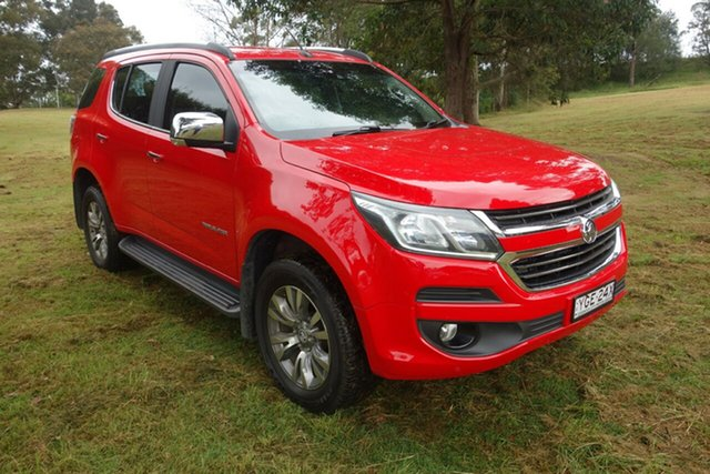 Used Holden Trailblazer RG MY18 LTZ East Maitland, 2017 Holden Trailblazer RG MY18 LTZ Red 6 Speed Sports Automatic Wagon