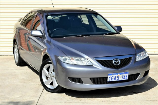 Used Mazda 6 GG1031 MY04 Classic Mount Lawley, 2004 Mazda 6 GG1031 MY04 Classic Grey 4 Speed Sports Automatic Hatchback