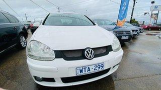 2008 Volkswagen Golf V MY08 Comfortline 6 Speed Manual Hatchback.