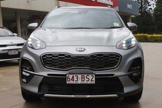 2020 Kia Sportage QL MY21 GT-Line AWD Steel Grey 6 Speed Sports Automatic Wagon.
