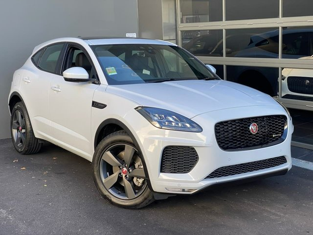 Demo Jaguar E-PACE X540 20MY Standard Chequered Flag Hobart, 2020 Jaguar E-PACE X540 20MY Standard Chequered Flag White 9 Speed Sports Automatic Wagon