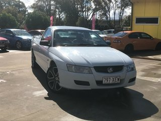 2007 Holden Ute VZ MY06 White 4 Speed Automatic Utility.