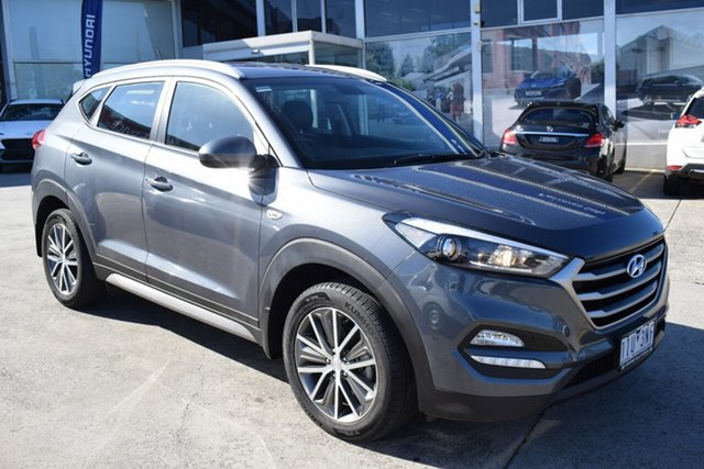 Used Hyundai Tucson TL Active X 2WD Ferntree Gully, 2016 Hyundai Tucson TL Active X 2WD Grey 6 Speed Sports Automatic Wagon