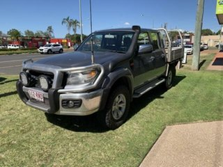 2011 Ford Ranger PX XLT 3.2 (4x4) Grey 6 Speed Manual Double Cab Pick Up.
