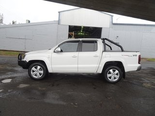 2018 Volkswagen Amarok 2H MY18 TDI550 4MOTION Perm Sportline Candy White 8 Speed Automatic Utility