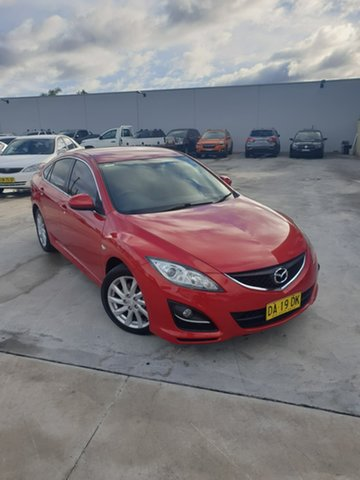 Used Mazda 6 GH1051 MY09 Classic Liverpool, 2010 Mazda 6 GH1051 MY09 Classic Red 5 Speed Sports Automatic Hatchback