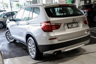 2012 BMW X3 F25 MY0412 xDrive28i Steptronic Silver 8 Speed Automatic Wagon.