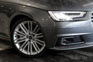 2016 Audi A4 B9 8W MY17 sport Avant S Tronic Quattro Grey 7 Speed Sports Automatic Dual Clutch Wagon