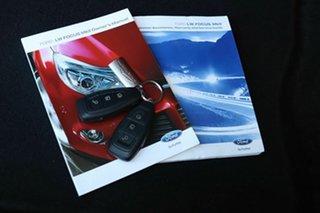 2014 Ford Focus LW MkII Titanium PwrShift Black 6 Speed Sports Automatic Dual Clutch Hatchback