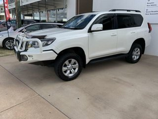 2017 Toyota Landcruiser Prado GDJ150R MY17 GXL (4x4) White 6 Speed Automatic Wagon