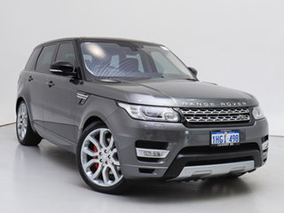 2015 Land Rover Range Rover LW MY16 Sport 5.0 V8 SC HSE Dynamic Grey 8 Speed Automatic Wagon.