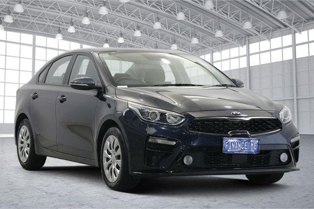 Used Kia Cerato BD MY19 S Victoria Park, 2019 Kia Cerato BD MY19 S Blue 6 Speed Sports Automatic Sedan