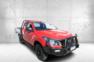 2018 Mazda BT-50 UR0YG1 XT Freestyle Red 6 Speed Sports Automatic Cab Chassis.