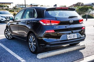 2017 Hyundai i30 PD MY18 Premium D-CT Black 7 Speed Sports Automatic Dual Clutch Hatchback.