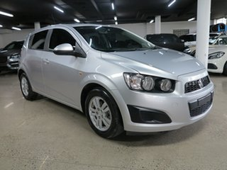 2014 Holden Barina TM MY14 CD Silver 6 Speed Automatic Hatchback.