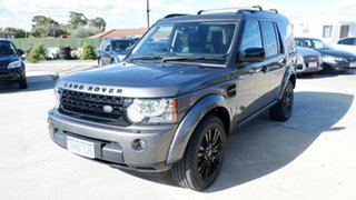 2013 Land Rover Discovery 4 Series 4 L319 MY13 SDV6 SE Grey 8 Speed Sports Automatic Wagon.