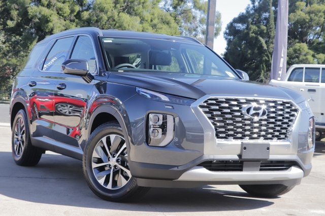 New Hyundai Palisade LX2.V1 MY21 AWD Moorooka, 2021 Hyundai Palisade LX2.V1 MY21 AWD Steel Graphite 8 Speed Sports Automatic Wagon