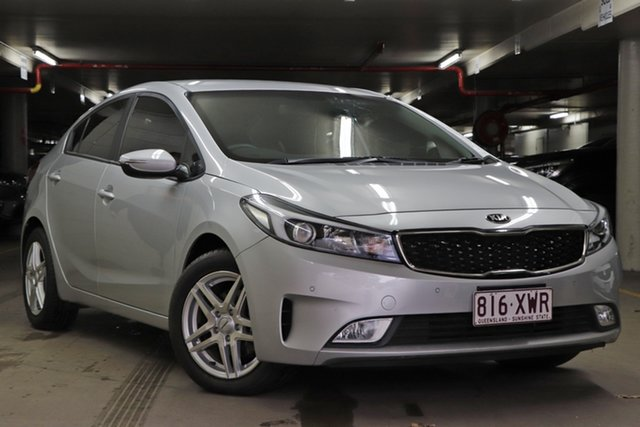 Used Kia Cerato YD MY17 S Toowoomba, 2017 Kia Cerato YD MY17 S Silver 6 Speed Sports Automatic Sedan