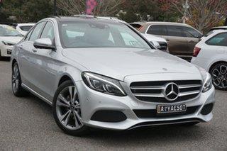 2017 Mercedes-Benz C-Class W205 808MY C200 9G-Tronic Silver 9 Speed Sports Automatic Sedan.
