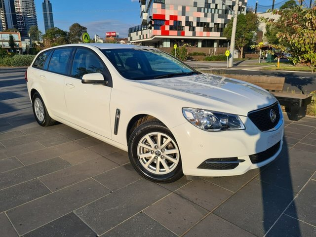 Used Holden Commodore VF II MY17 Evoke Sportwagon South Melbourne, 2017 Holden Commodore VF II MY17 Evoke Sportwagon White 6 Speed Sports Automatic Wagon