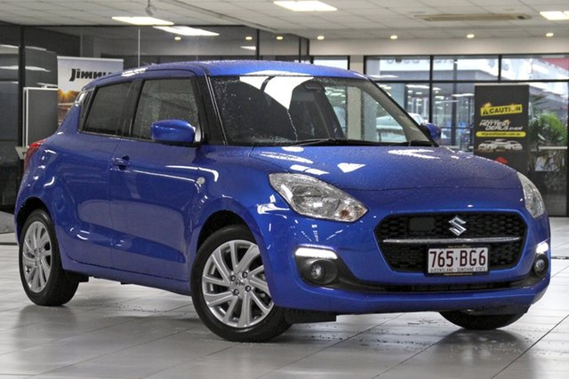 Demo Suzuki Swift AZ Series II GL Navigator Plus Mount Gravatt, 2020 Suzuki Swift AZ Series II GL Navigator Plus Speedy Blue 1 Speed Constant Variable Hatchback